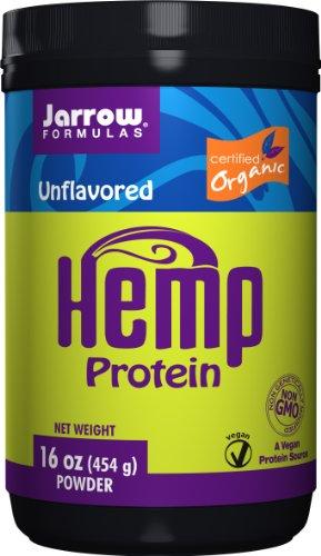 Jarrow Formulas Hemp Protein (Organic), Supports Gastrointestinal, Immune & Respiratory Health, 16 Ounce (Protein Organic Whey Jarrow)