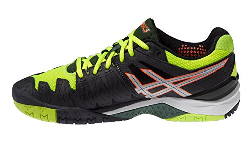 Gel Flash Tennis Homme Yellow De Chaussures resolution Silver Onyx 6 Asics dqwgz6d