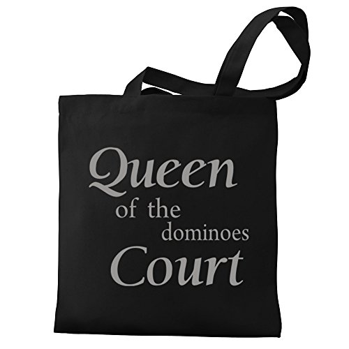 Eddany Tote Eddany Queen Dominoes Queen court Canvas of Bag the dpgq88xw