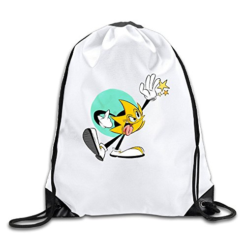 Price comparison product image Ristar Lightweight Drawstring Bags Backpack White Size One Size