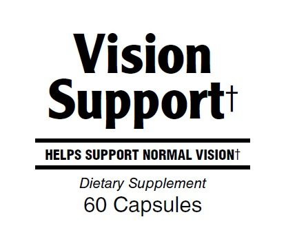 Invia Vision Support Vitamin Supplement with Lutein (6mg) and Bilberry for Healthy Eyesight by INVIA (Image #1)