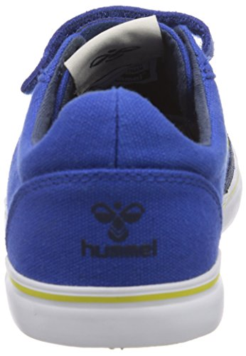 hummel HUMMEL DEUCE COURT JR - zapatilla deportiva de lona niño azul - Blau (Turkish Sea 7524)