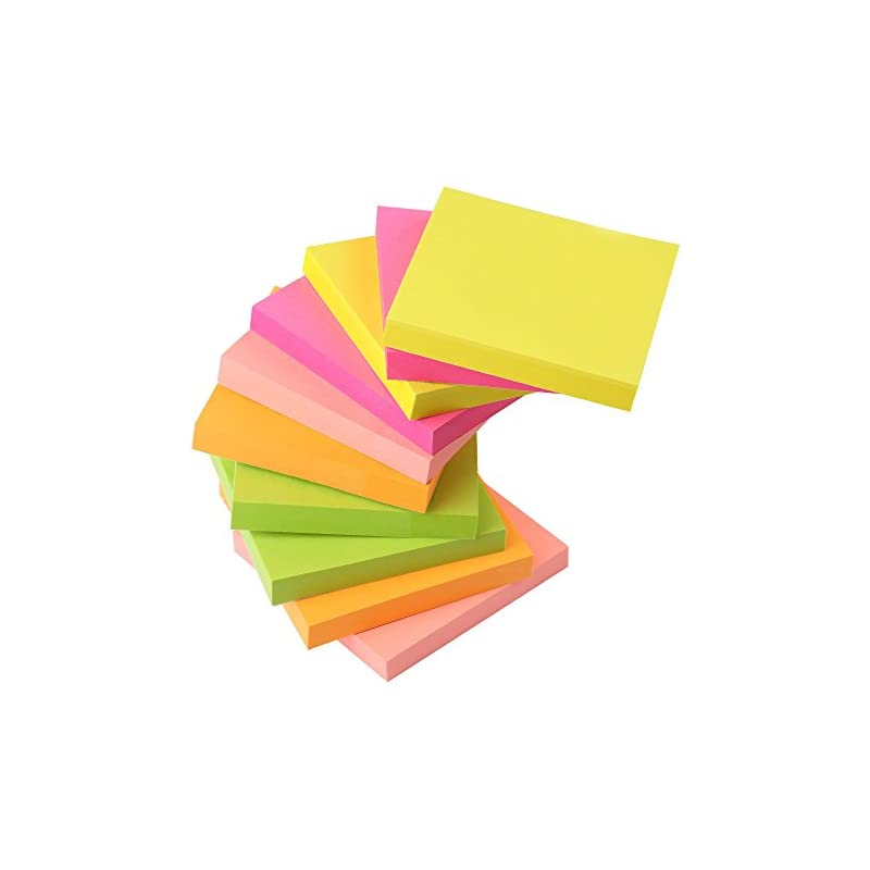 Sticky Notes, AIEX 4 Fluorescence Colors