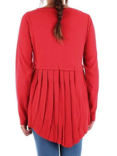 56m001500f000211r310 Viscosa Rojo Jersey Trussardi Mujer 40WqWO