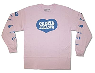 Rae Sremmurd Crowd Pleaser Mens Pink Long Sleeved Shirt Adult