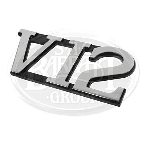 Jaguar XJS Convertible V12 Badge Emblem (V12 Badge)