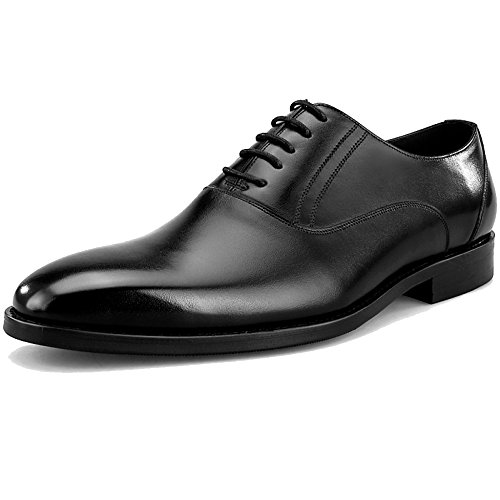 Lavoro Cerimonia Classico Punta In Stringata Party Scarpa Pizzo Pelle Ups Uomo Suit Black Regali La Business Di Per Derby Scarpe Party Vera Quadrata Oxford Nuziale Formale S6UwqrS