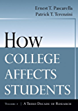 How College Affects Students: A Third Decade of Research: 2