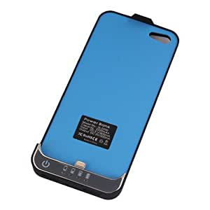Carcasa con Batería integrada auxiliar Power Bank Para iphone 5 i-phone 5 i-phone5 iphone5 2200mAh Negra