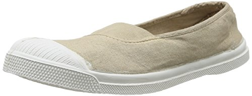 Bensimon - F15002c155 Tennis Baskets Mode Femme Beige (coquille 105)