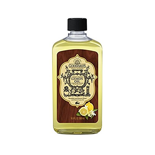 Goddard's Cabinet Makers Lemon Oil Furniture Polish – 16 oz by Goddard's