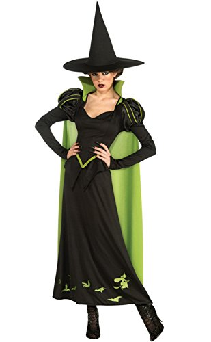 Nuoqi Witch Costume Women's Black Long Cosplay Costume ()