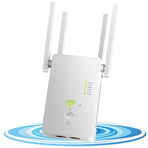 🥇 DCUKPST Repetidor WiFi 1200Mbps