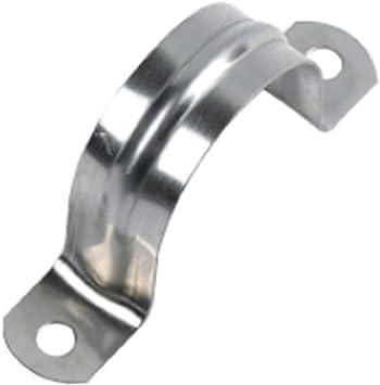 Soporte de tubo 2 piezas//paquete 38~40 mm Soporte de abrazadera de tubo de acero inoxidable Sujetador de abrazadera de tubo