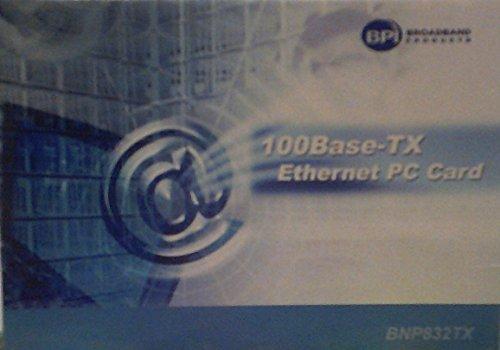 100Base-TX Ethernet PC Card (BNP832TX)