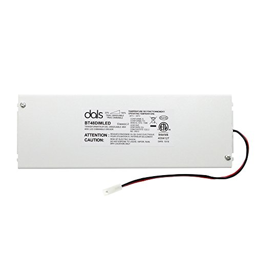 dals BT48DIMLED Triac Dimmable LED Driver, 48-Watt, 12-Vdc, Enclosed