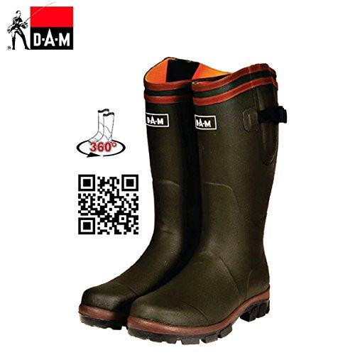 Dam Neoprene Boots 44 Flex Rubber 1qrTxZw1