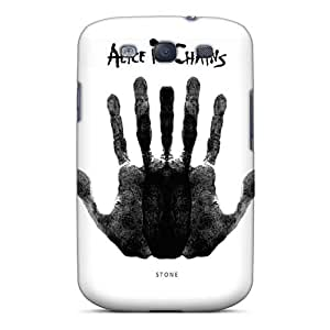 TimeaJoyce Samsung Galaxy S3 Scratch Resistant Hard Cell-phone Case Customized Trendy Alice In Chains Band Image [lJT6376xfwL]
