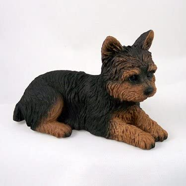 Conversation Concepts Yorkshire Terrier Puppy Cut Standard Figurine Set of 6