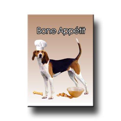Treeing Walker Coonhound Bone Appetit Chef Fridge Magnet No 1