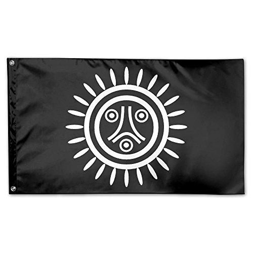 Taino Flag Logo 100% Polyester Fiber Garden Flag 3 'x 5 '