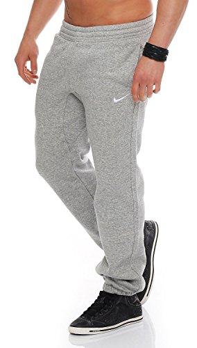 Nike Herren Trainingsanzüge Hosen Mens Fleece Jog Pants Swoosh Club Tracksuit Bottoms Joggers Black, Grey, Navy Sizes S M L XL New 611459 (MarlGrey, L)