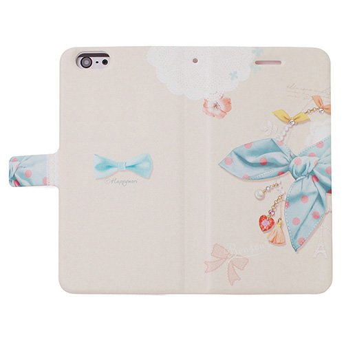 Happymori Diary Case for iPhone 6 Plus (Blue Scarf)