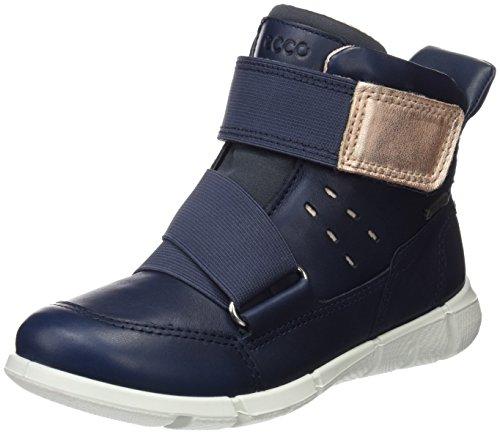 ECCO Intrinsic Sneaker, Zapatillas Unisex Niños Azul (True Navy)