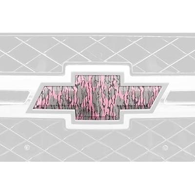 Mossy Oak Graphics 14010-BLP Bottomland Pink Auto Emblem Skin: Automotive