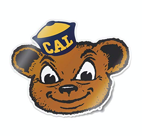 Nudge Printing NCAA Vintage Popular Car Decals from (University of California Berkeley)]()