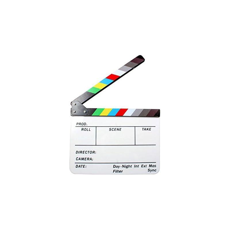 Andoer Acrylic Clapboard Dry Erase Direc