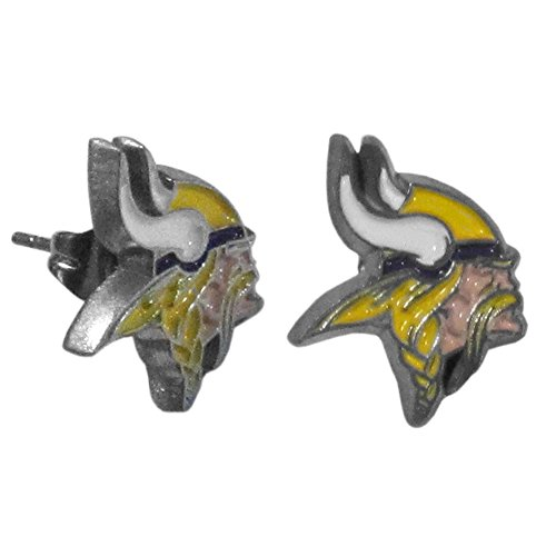 NFL Minnesota Vikings Stud Earrings (Nfl Enamel)