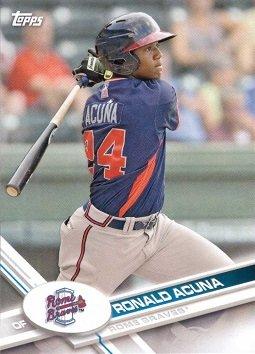Amazoncom 2017 Topps Pro Debut 155 Ronald Acuna Baseball