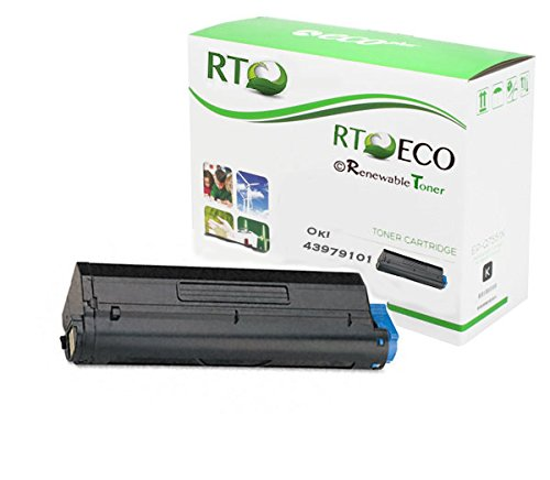 - Renewable Toner Compatible Toner Cartridge Replacement for Okidata 43979101 Oki Laserjet B410 B410dn MB460 MB470 MB480 MFP