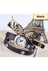 2014 new style fashion ladies watches wing rhinestone gold plated bracelet JEW SJA0846535262CO TYPE 1