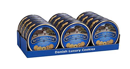 Royal Dansk Danish Butter Cookies 454 g (Pack of 12)