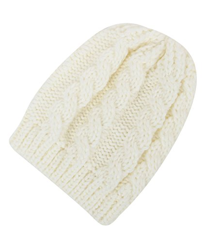 Skull Mask With Dreadlocks (Infant Baby Knit Hat Soft Thermal Newborn Beanies Skull Winter Cap White)