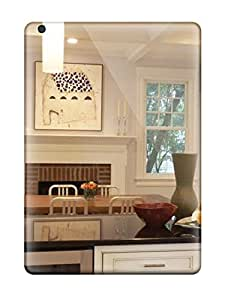 BwJWTji7098ckHyd DebAA White Kitchen With Stainless Appliances And Extended Island With A Sink Durable Ipad Air Tpu Flexible Soft Case