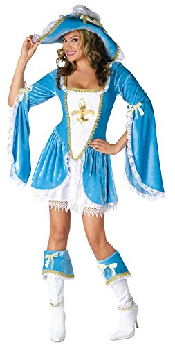 Madam Musketeer Adult Costume - Small/Medium ()