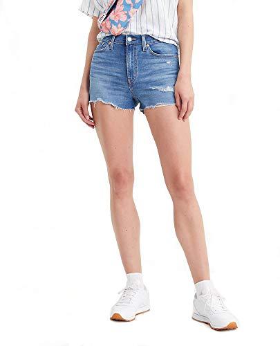 Levi's Women's High Rise Shorts Shorts, -Sapphire dust, 26 (US 2)