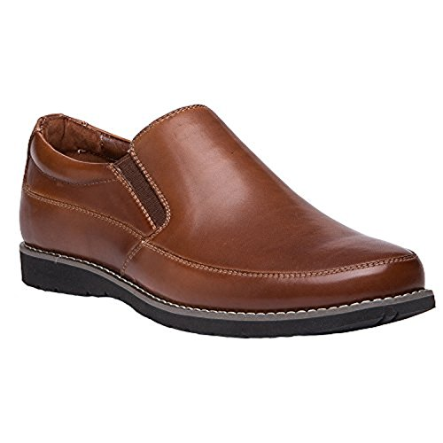 Propet Hombres Grant Shoe Brown 12 X (3e) & Oxy Cleaner Bundle