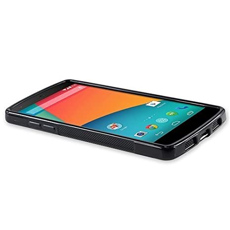 9577285084 Amazon | Google Nexus 5 TPUデザインカバーケース ( ネクサス5 LG-D820 対応) 軽量ソフトモデル Design  Cover Case 【全6種類】 (Design S Black (黒)) | ケース・ ...