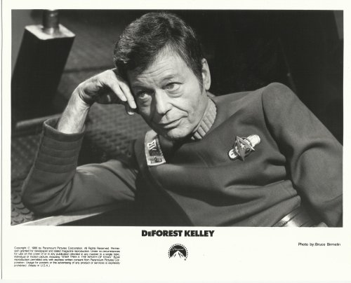 Star Trek Deforest Kelley 8 x 10 Movie Press Kit Photo #2 from Star Trek