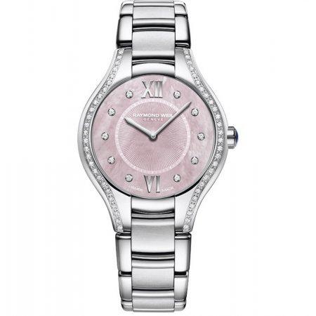 Raymond Weil Women's 5132-STS-00986 Noemia Analog Display Quartz Silver Watch