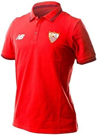 New Balance Sevilla FC MC Piqué 2017-2018, Polo, Rojo, Talla S ...