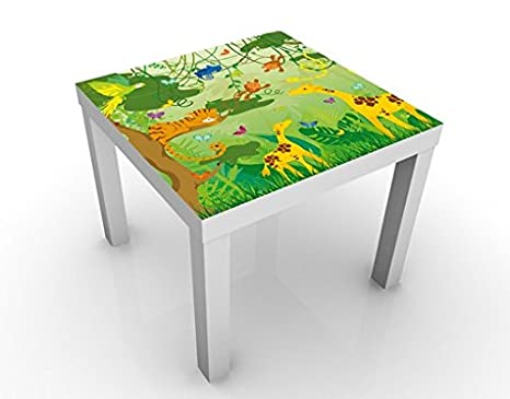 Design Table No Is87 Jungle Playground 55x55x45cm Table Colour