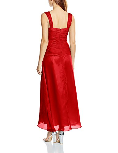 Astrapahl Vestido Rot Cóctel co6021ap Rojo Mujer r78HrqUxw