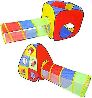 ONEPLAY Carpas y túneles para niños con Bola de 5 Piezas, Carpa de ...