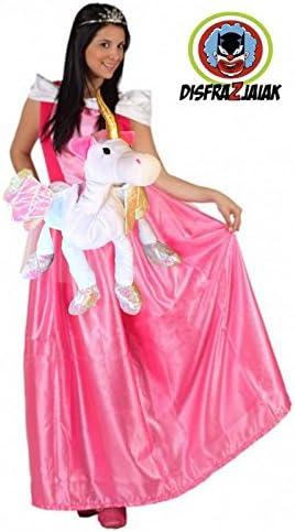 Disfraz Despedidas de Soltera de Princesa Fucsia Unicornio (XL ...