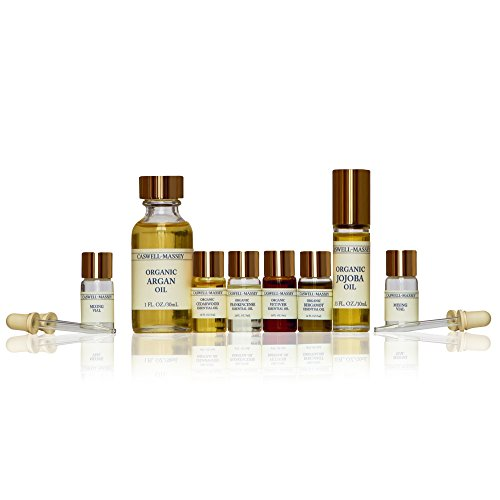 Deep Florals Pure Organic and Wildcrafted Essential Oils Kit